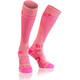 Compressport Full Socks V2.1 Hardloopsokken Dames roze